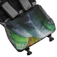 Load image into Gallery viewer, Don't Chase The Snake© - Origaudio® Penryn RFID Backpack - askdrganz.com #AskDrGanz
