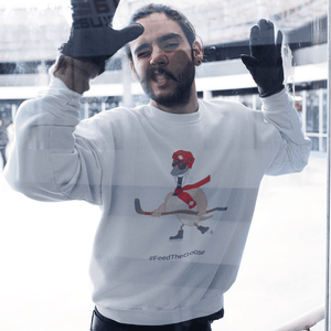 Feed The Goose© - Hockey Hoodie - askdrganz.com #AskDrGanz