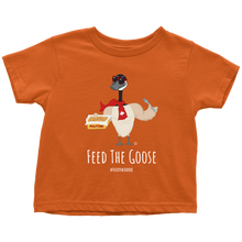 Load image into Gallery viewer, Buff Canada Goose Poutine  - Toddler T-Shirt - askdrganz.com #AskDrGanz