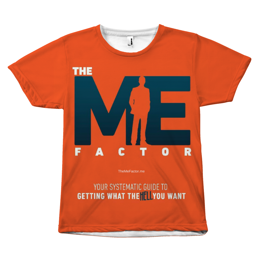 The Me Factor© - All Over Print T-Shirt - askdrganz.com #AskDrGanz