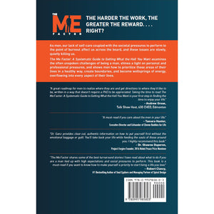 The Me Factor© - Systematic Guide to Getting What the HELL You Want (paperback) - askdrganz.com #AskDrGanz