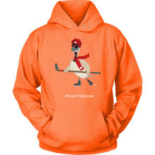 Load image into Gallery viewer, Feed The Goose© - Hockey Hoodie - askdrganz.com #AskDrGanz