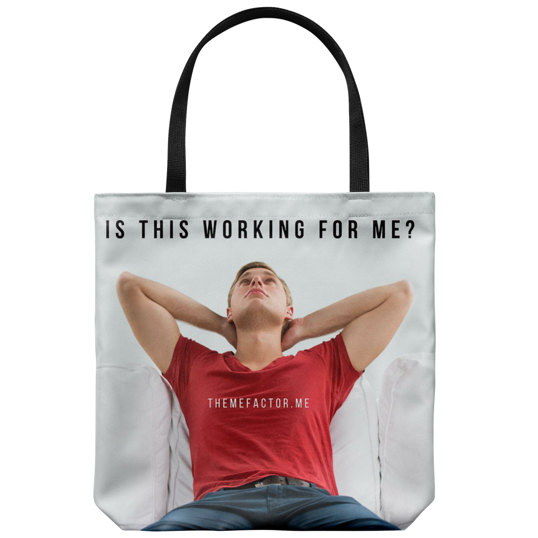Is This Working For Me?© - Tote Bag - askdrganz.com #AskDrGanz