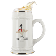 Load image into Gallery viewer, Feed The Goose© - Beer Stein - askdrganz.com #AskDrGanz