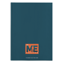 Load image into Gallery viewer, The Me Factor© - Journal Hardcover - askdrganz.com #AskDrGanz