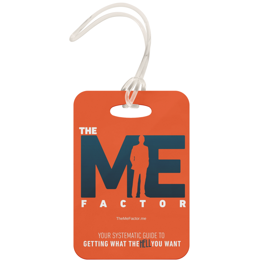 The Me Factor© - Luggage Tag - askdrganz.com #AskDrGanz