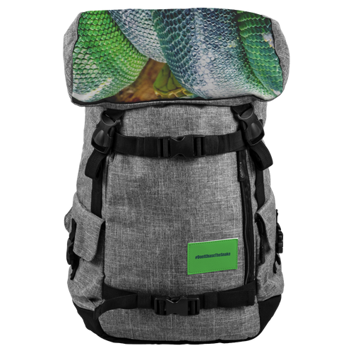 Don't Chase The Snake© - Origaudio® Penryn RFID Backpack - askdrganz.com #AskDrGanz