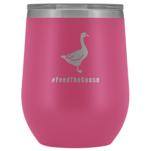 Load image into Gallery viewer, Feed The Goose© - Polar Camel™ Wine Tumbler - AskDrGanz.com