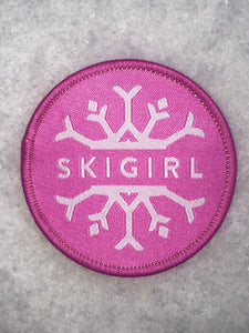 Skigirl 2.5 inch patch