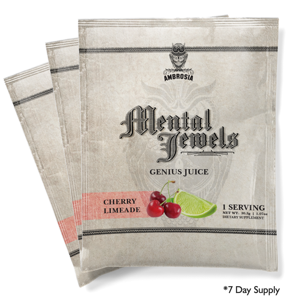 Mental Jewels Powder Sample Kit<br><font size=5>(7 Packets)</font>