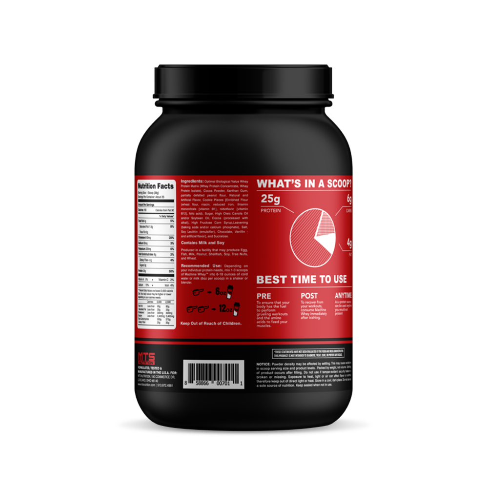MTS Machine Whey - 2lb