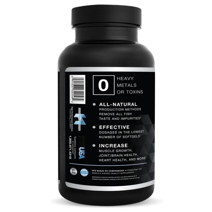 N(4) Icelandic Omega-3 Fish Oil