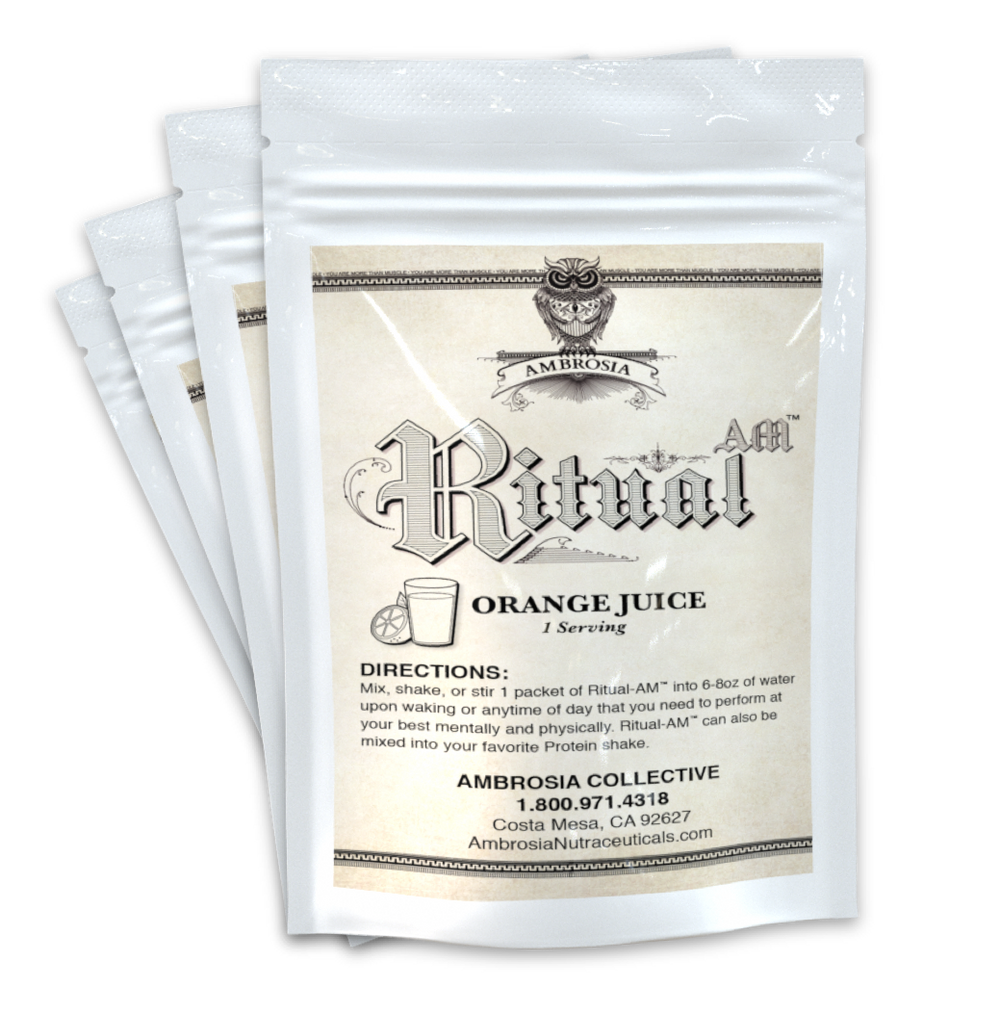 Ritual-AM® Biohacking Theorem Sample Kit<br><font size=5>(4 Packets)</font>