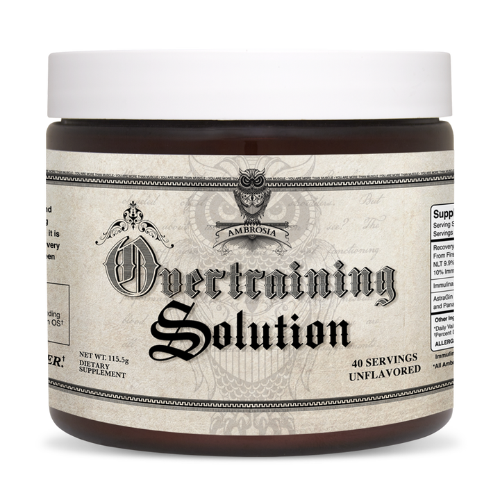 Overtraining Solution® with Immulina™ (Sezzle Eligible)