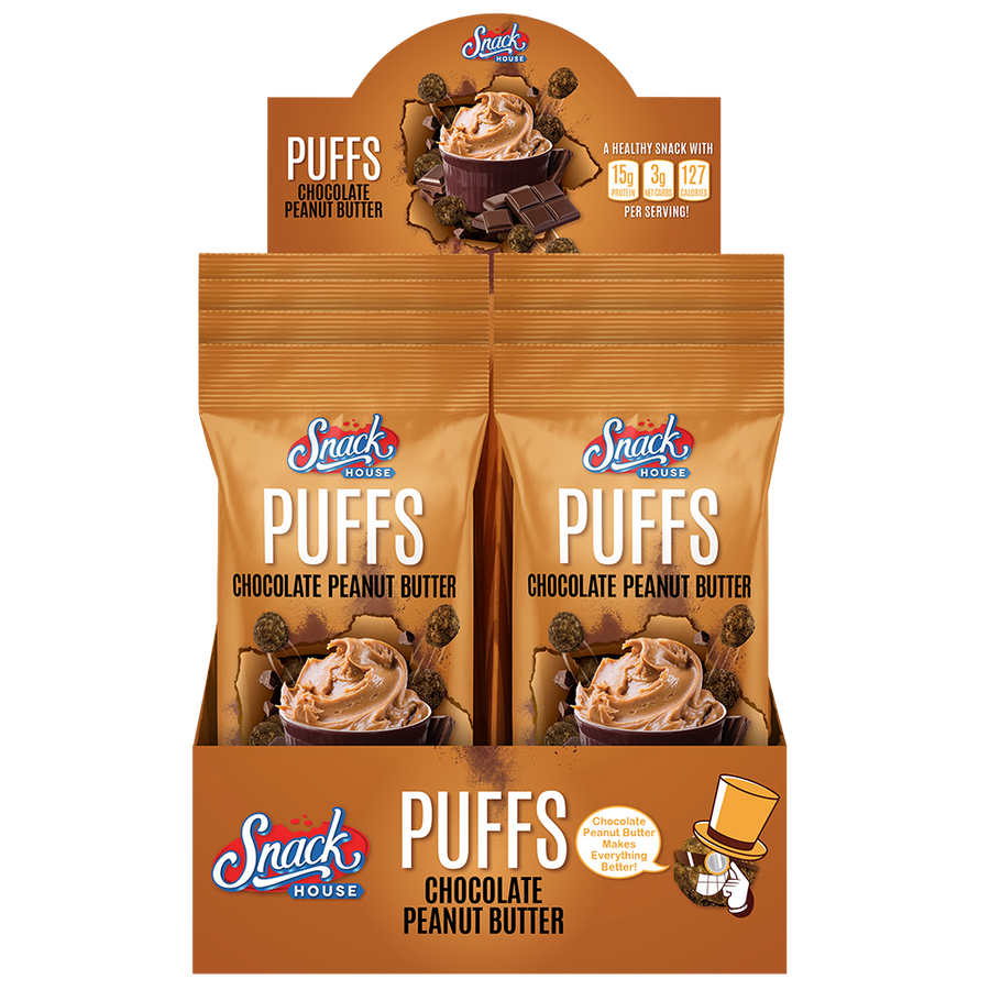 Snack House Puffs® - 8-Pack Box (All Flavors)