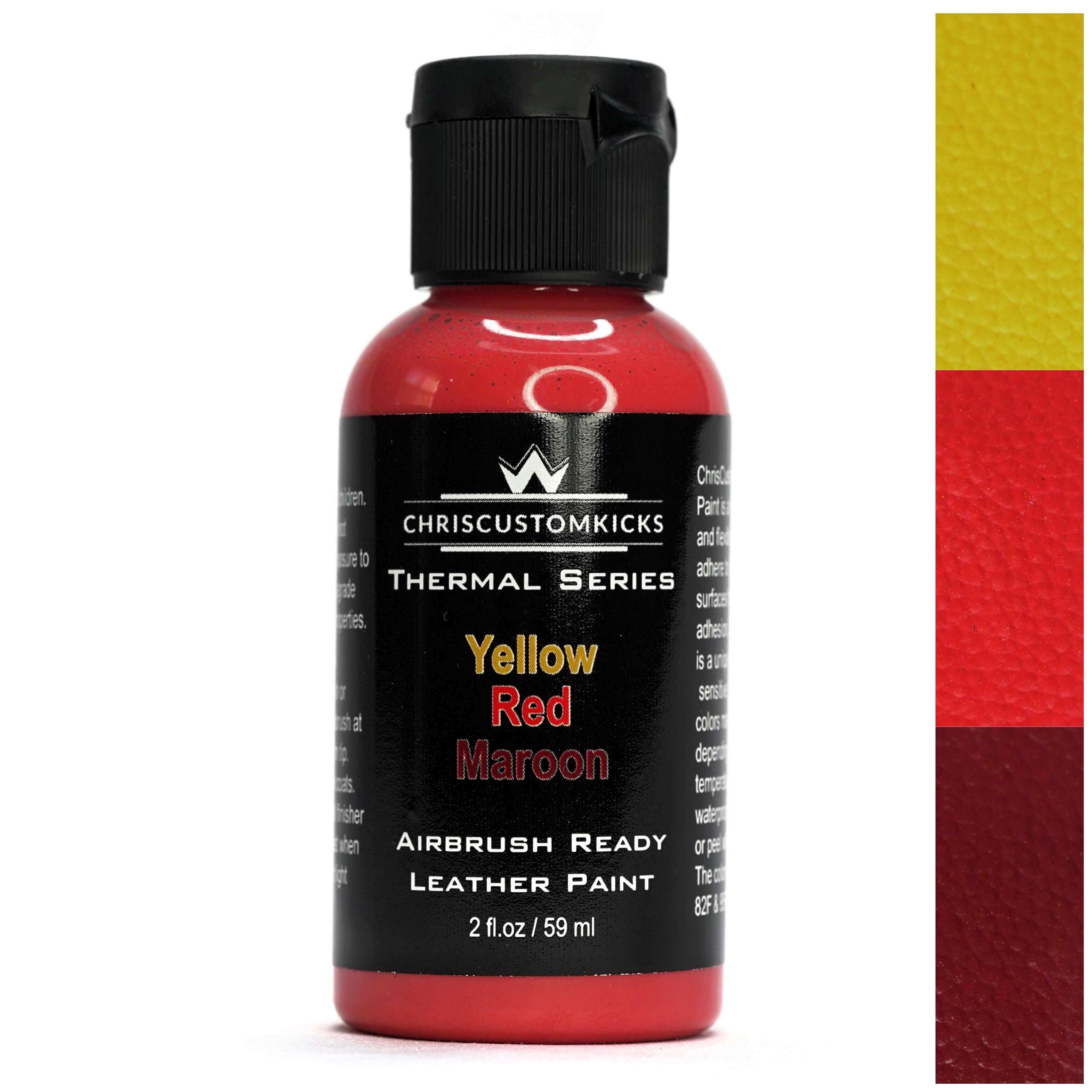 Triple Thermal Paint - Maroon/Red/Yellow