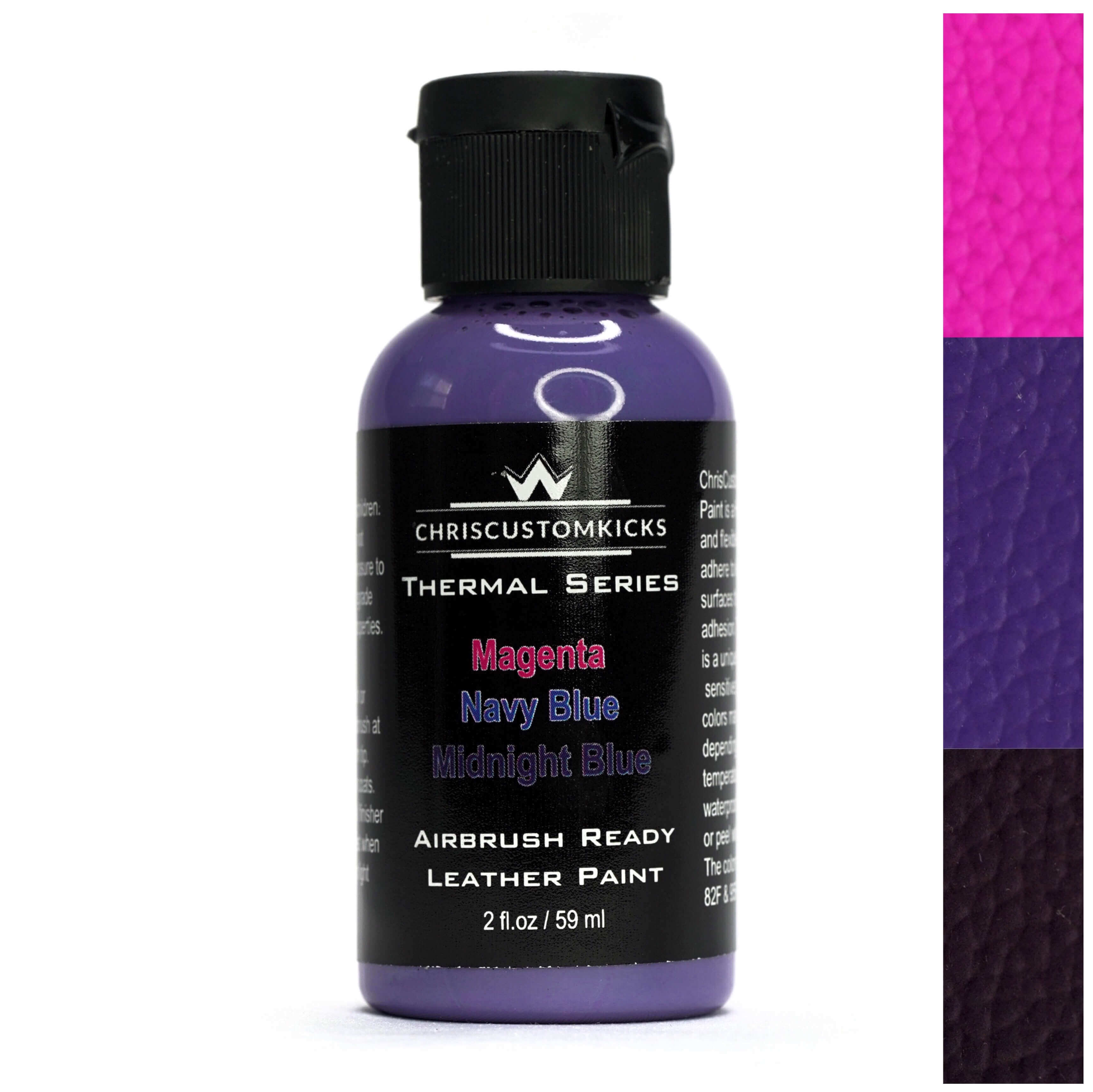 Triple Thermal Paint - Midnight Blue/Navy Blue/Magenta
