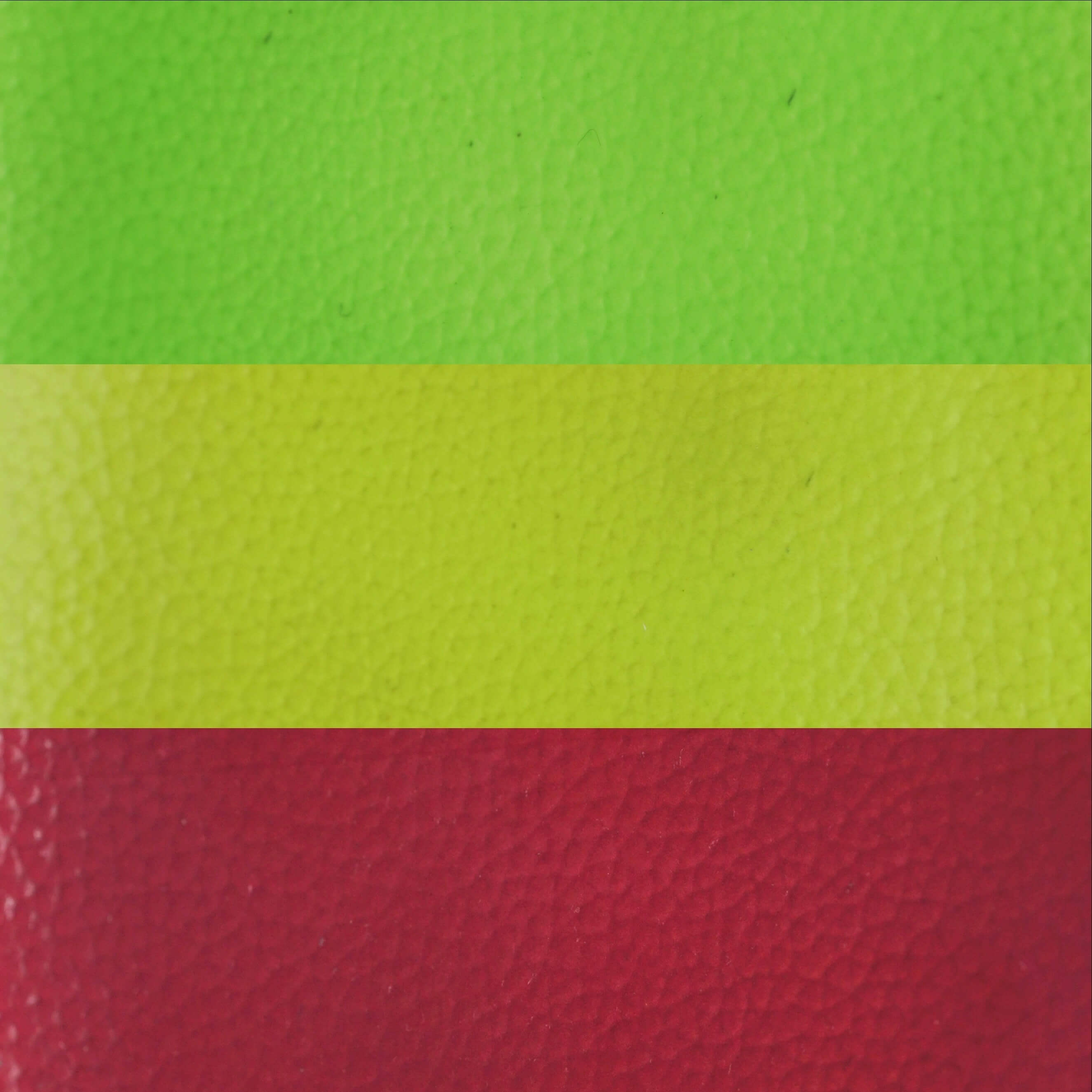 Triple Thermal Paint - Rust Red/Yellow/Lime Green