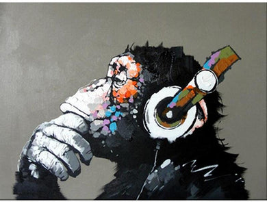 Abstract Monkey - Gopaintbynumbers