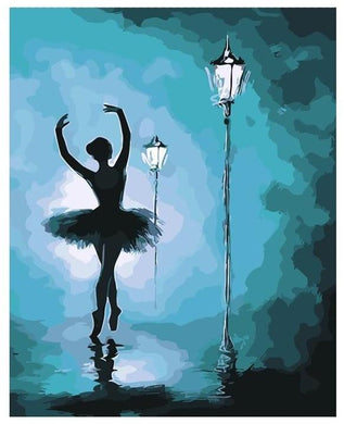 Night Ballet Dance - Gopaintbynumbers