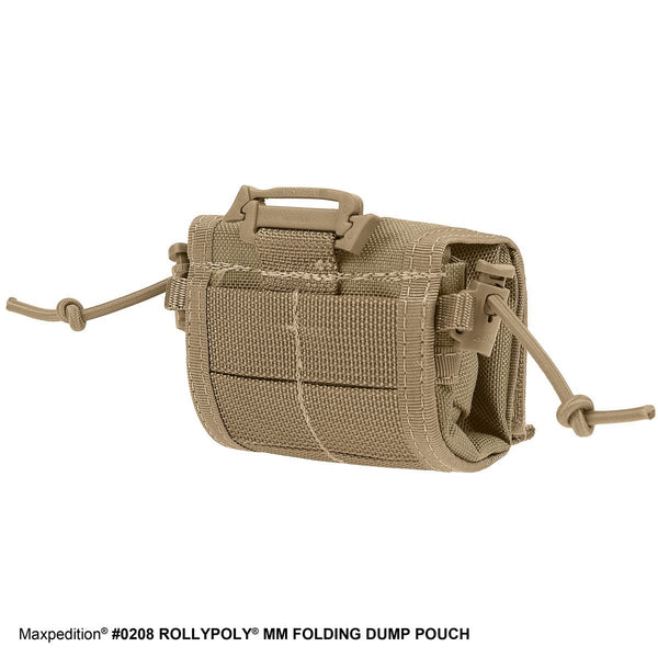 MEGA ROLLY POLLY FOLDING POUCH - Maxpedition, Military, CCW, EDC, Tactical, Everyday Carry, Outdoors, Nature, Hiking, Camping, Police Officer, EMT, Firefighter, Bushcraft, Gear.