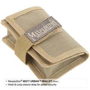 URBAN WALLET - MAXPEDITION, EDC,Backpack, Tactical Gear, Law Enforcement, Police Gear, EMT, Everyday Carry,Tactical, Hiking, Camping, Outdoor, Essentials, Guns, Travel, Adventure