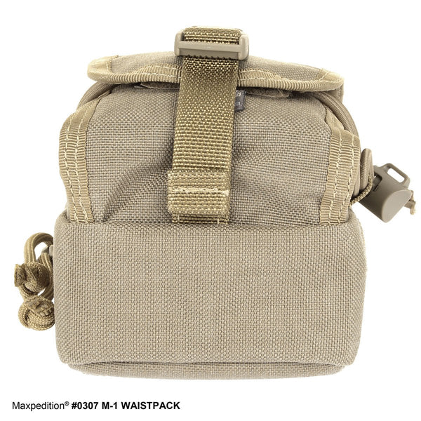 M-1 WAISTPACK - MAXPEDITION, Maxpedition, Military, CCW, EDC, Tactical, Everyday Carry, Outdoors, Nature, Hiking, Camping, Police Officer, EMT, Firefighter, Bushcraft, Gear.