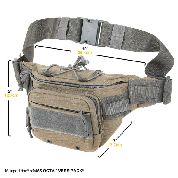 Octa Versipack- Maxpedition, Military, CCW, EDC, Everyday Carry, Outdoors, Nature, Hiking, Camping, Police Officer, EMT, Firefighter, Bushcraft, Gear, Travel