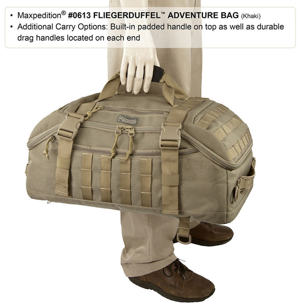 FLIEGERDUFFEL ADVENTURE BAG - MAXPEDITION