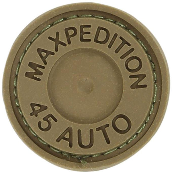 MAX 45 AUTO PATCH - MAXPEDITION, Patches, Military, CCW, EDC, Tactical, Everyday Carry, Outdoors, Nature, Hiking, Camping, Bushcraft, Gear, Police Gear, Law Enforcement