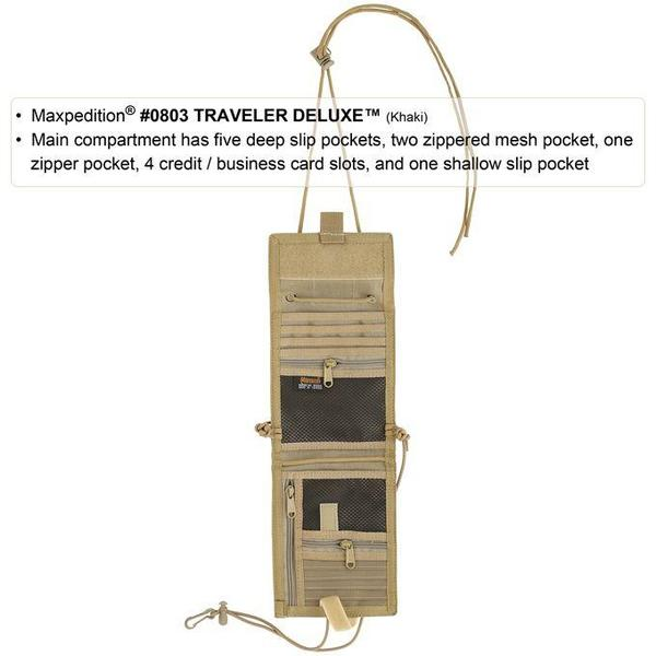 Maxpedition Traveler Deluxe (Black)