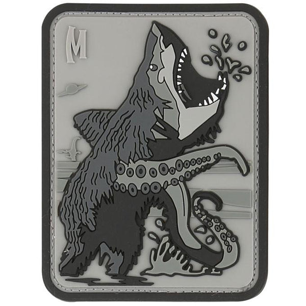 BEARSHARKTOPUS PATCH - MAXPEDITION, Patches, Military, CCW, EDC, Tactical, Everyday Carry, Outdoors, Nature, Hiking, Camping, Bushcraft, Gear, Police Gear, Law Enforcement