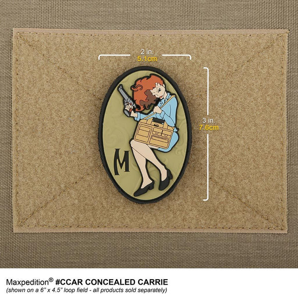 Concealed Carrie Morale Patch - Full Colour