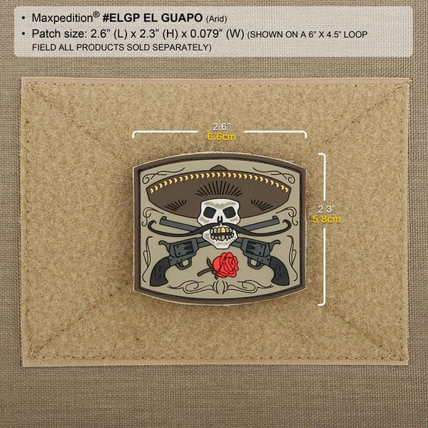 El Guapo Morale Patch - Arid Colour