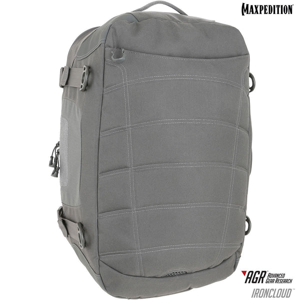 "Maxpedition's IRONCLOUD Adventure Travel Bag has a padded compartment dedicated for a 15"" laptop or tablet on the exterior of the pack, making it easy for the user to access while on-the-go."