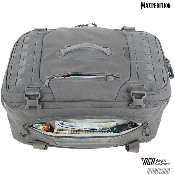 Maxpedition's Adventure Travel bag is carry-on friendly by most airline's standards.
