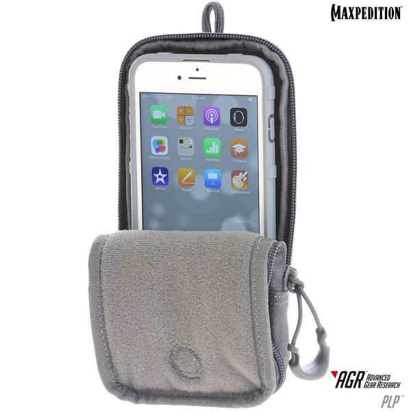 PLP iPHONE 6/6S POUCH Plus- MAXPEDITION, Phone holder, Radio Holder, Military, CCW, EDC, Everyday Carry, Outdoors, Nature, Hiking, Camping, Police Officer, EMT, Firefighter, Bushcraft, Gear, Travel.