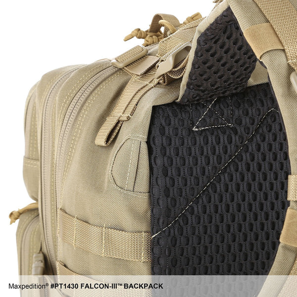 FALCON-III BACKPACK - MAXPEDITION, EDC Pack, Everyday Carry, Hiking, Camping, Outdoor, College, Adventure, Hunting, Range Gear,Maxpedition, Military, CCW, EDC, Tactical, Everyday Carry, Outdoors, Nature, Hiking, Camping, Police Officer, EMT, Firefighter, Bushcraft,