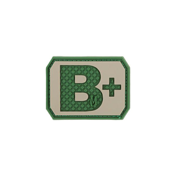 B+ Blood Type Morale Patch
