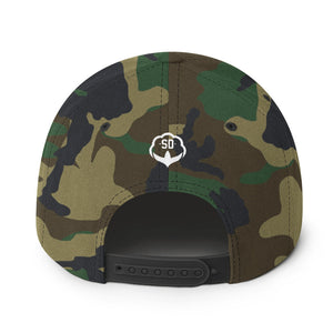 The Camo ICTY Snapback Hat
