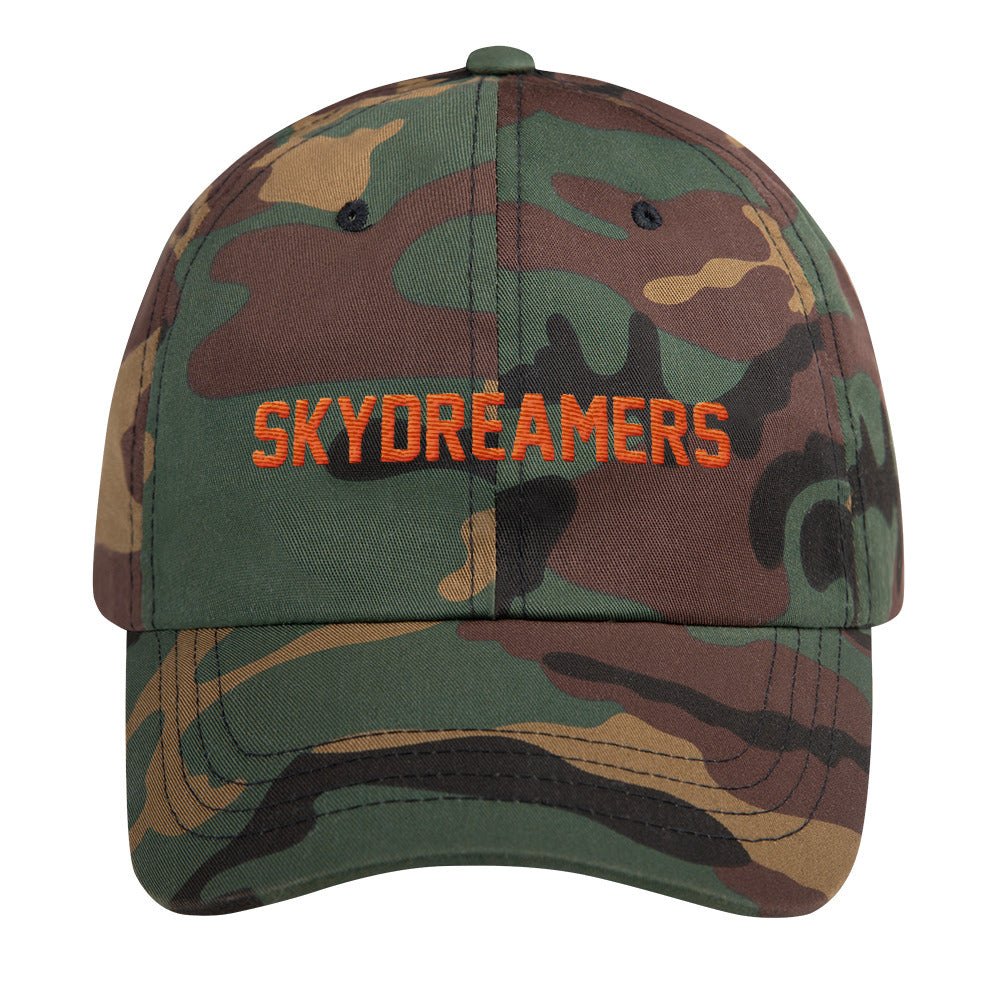 The SkyDreamers Camo Dad hat