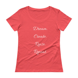 The Lady Dreamer's Scoopneck T-Shirt