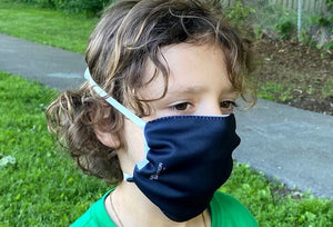 The aviator: Reusable, washable & fully adjustable none medical face mask