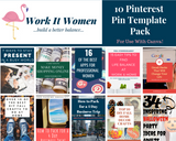 Top 10 Pinterest Pin Templates