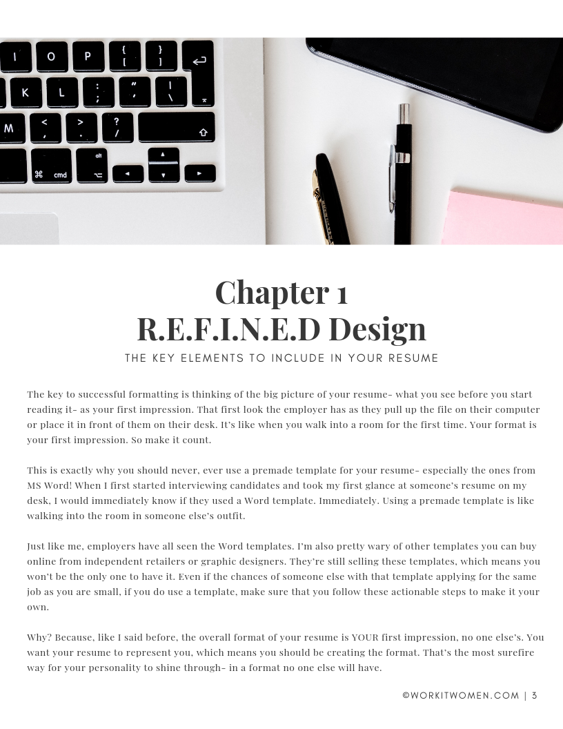 The R.E.F.I.N.E.D Resume by Kirianne Suriano