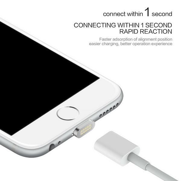 High Speed Magnetic Charging Cable for iPhone & Android Devices