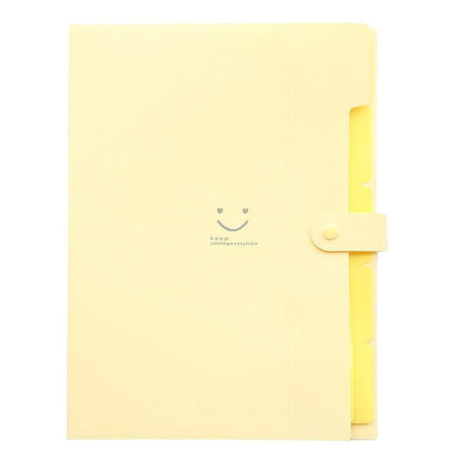 Rainbow Document File Folders