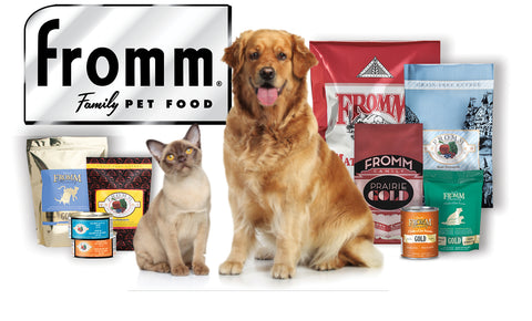 Fromm Family Pet Food Available In-Store Only
