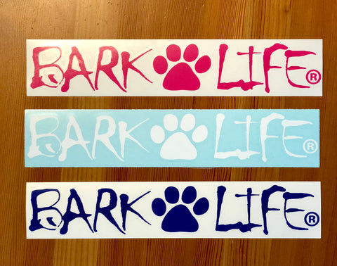 Bark Life Decal 6""