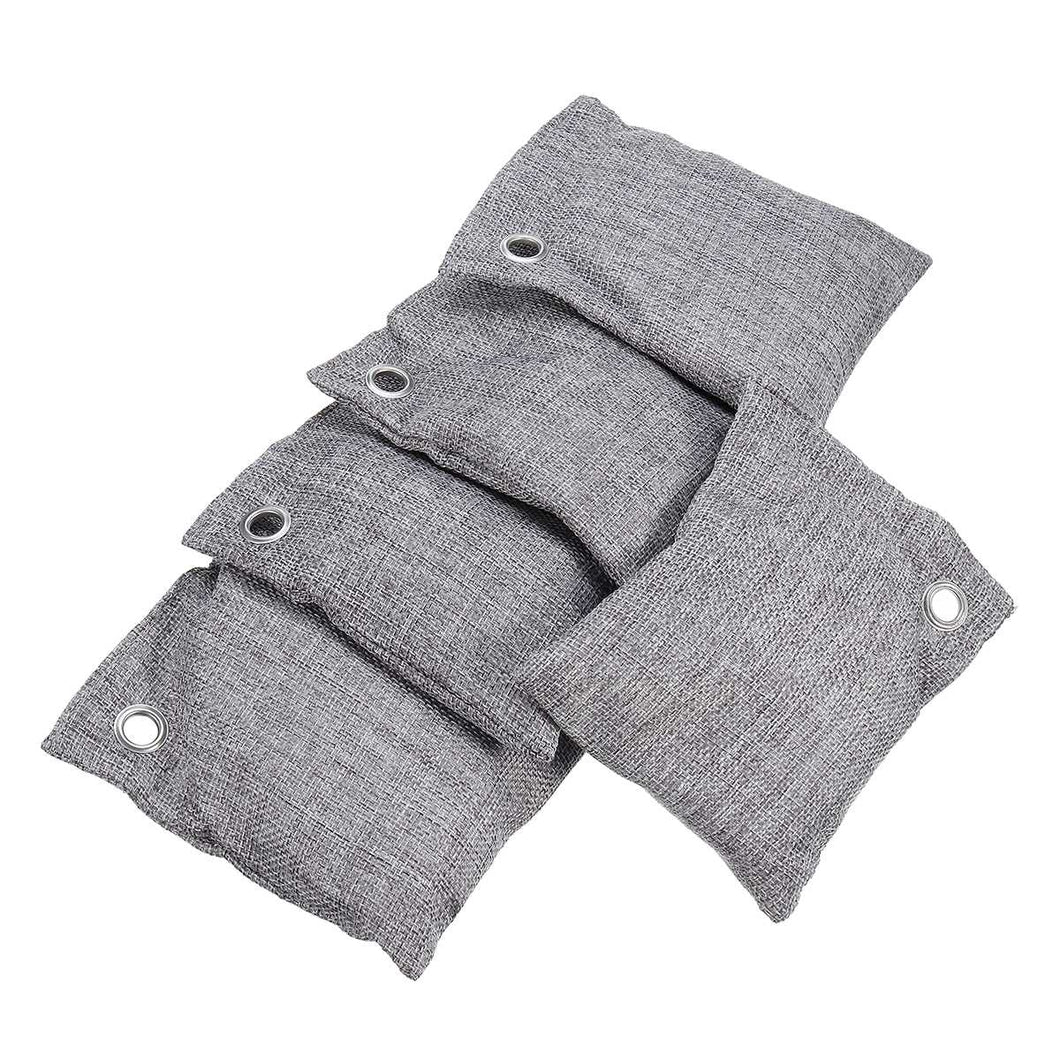 Bamboo Charcoal Air Purifier Bags Set of 5